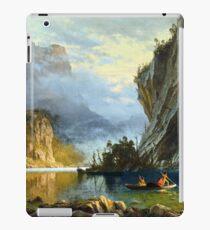 Indians spear fishing iPad Case/Skin
