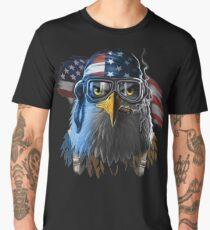 Patriotic Eagle America  Men's Premium T-Shirt