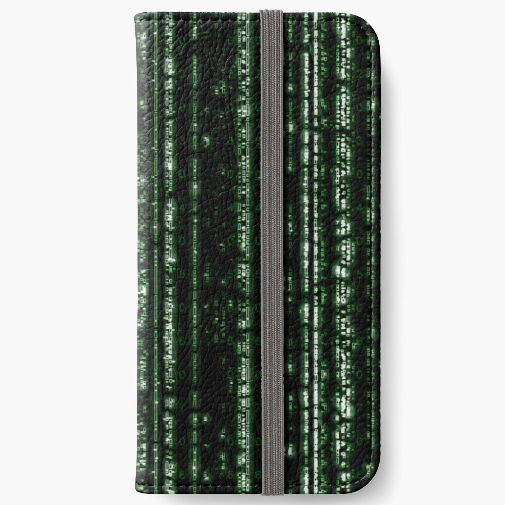 Streaming Mathematical Array iPhone Wallet