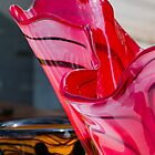 colorful glass vase by spetenfia