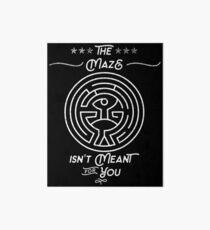 Westworld - The Maze Art Board