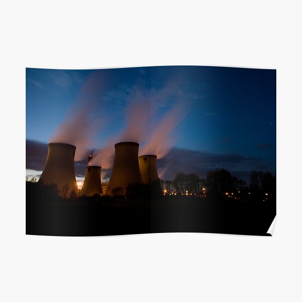 Drax Power Station Poster