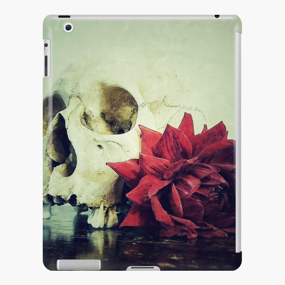 Vanitas Blut Rot R iPad-Hülle & Skin