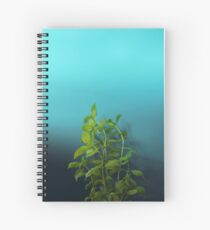 Shy and charming basil Spiral Notebook