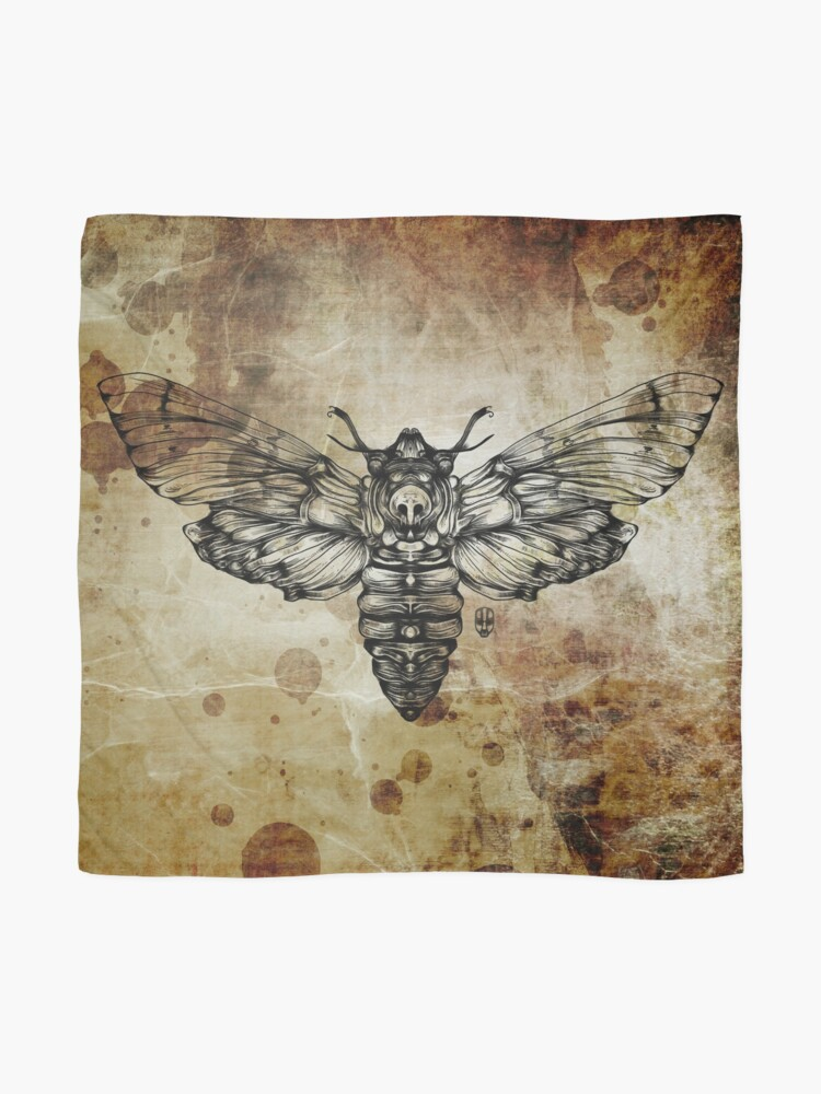 Alternate view of Moth Scarf