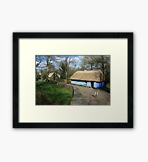 Bunratty thatched cottage Framed Print