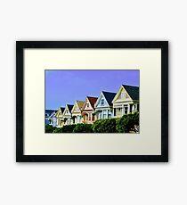 Painted Ladies, San Francisco Framed Print