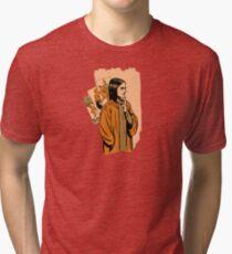 Tarot wizard Tri-blend T-Shirt