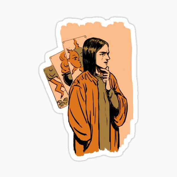 Tarot wizard Sticker