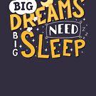 Big dreams need big sleep - Night by Romaric Pascal