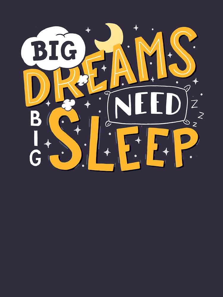 Big dreams need big sleep - Night by romaricpascal
