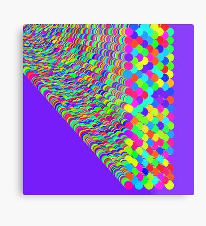 Random colors Metal Print