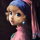 Princess With a Pearl Earring by chubbyunicorn