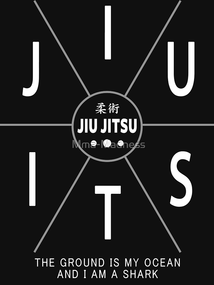 Jiu Jitsu - The Ground Is My Ocean And I Am A Shark by Mma-Madness