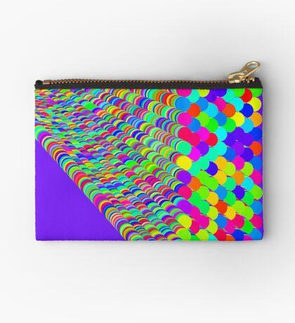 Random colors Zipper Pouch
