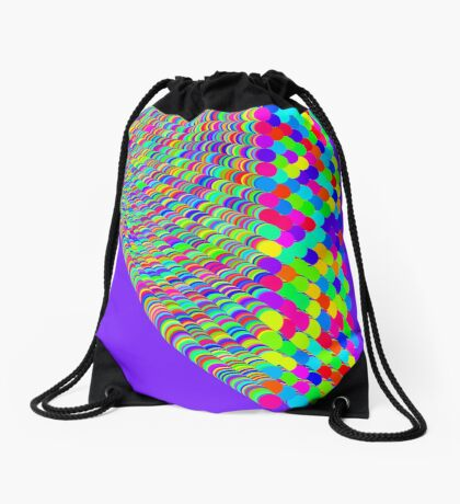 Random colors Drawstring Bag