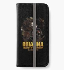 League of Legends - ORIANNA [The Lady Of Clockwork] iPhone Wallet