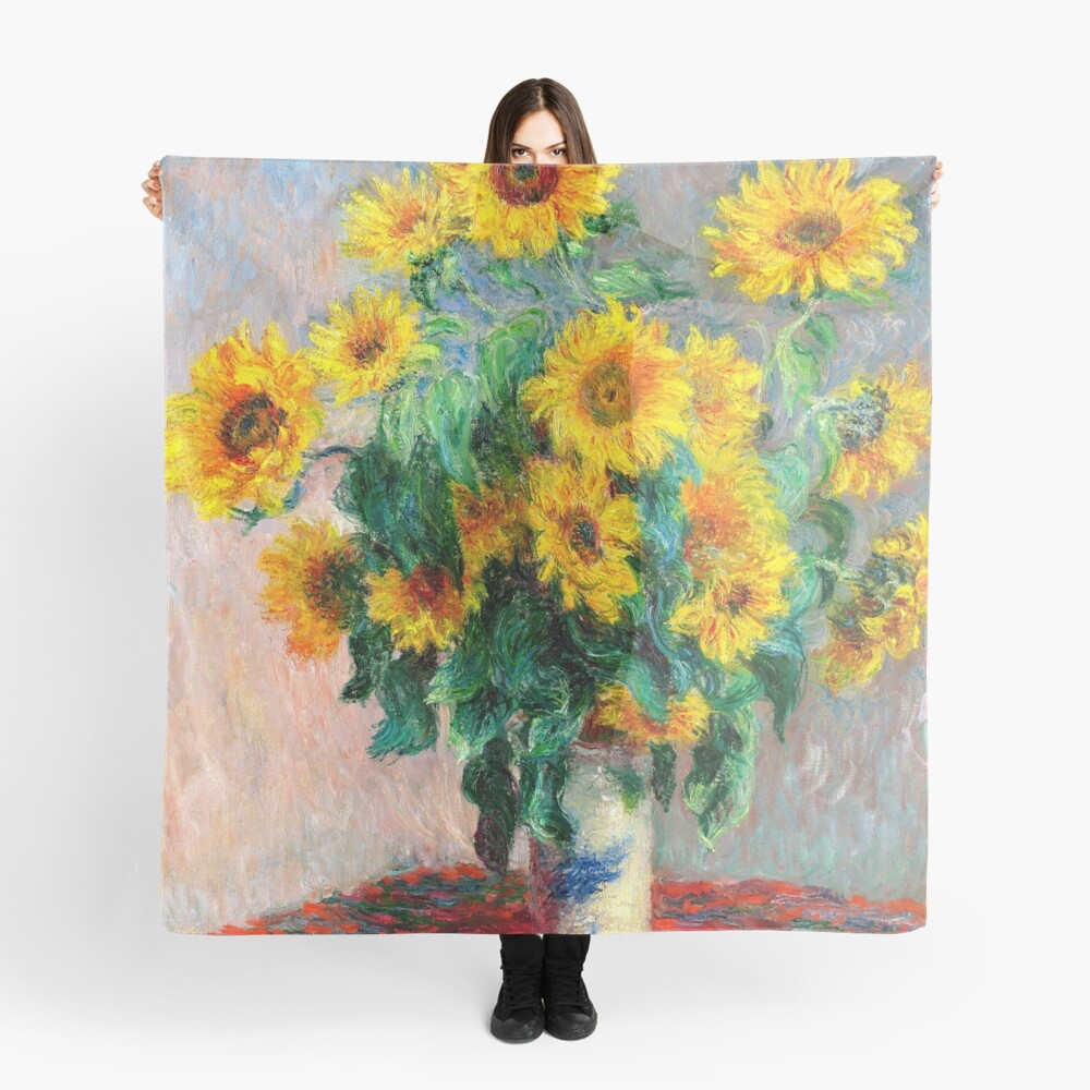 Bouquet of Sunflowers Scarf