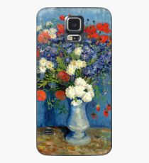 Vase With Cornflowers And Poppies Case/Skin for Samsung Galaxy
