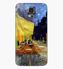 Cafe Terrace at Night Case/Skin for Samsung Galaxy