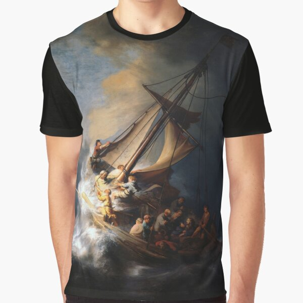 The Storm on the Sea of Galilee Graphic T-Shirt