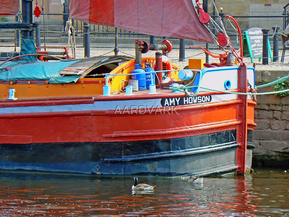 The Amy Howson - A Sailing Barge On York's River Ouse by AARDVARK