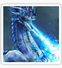 Ice dragon Sticker