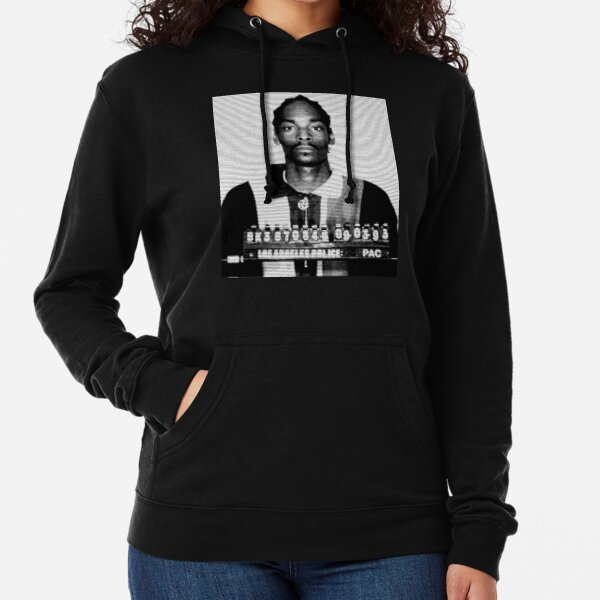 snoop arrest mugshot custom fan art Lightweight Hoodie