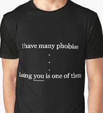 Phobias Graphic T-Shirt