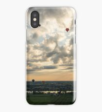 Dramatic Sky Full of Hot Air Balloons iPhone Case/Skin