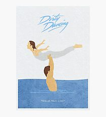Dirty Dancing Alternative Minimalist Movie Poster Photographic Print
