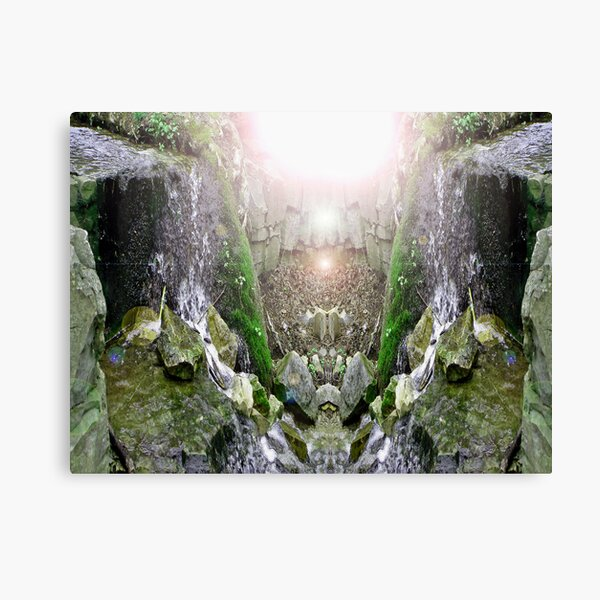 Welcome To Eden Canvas Print