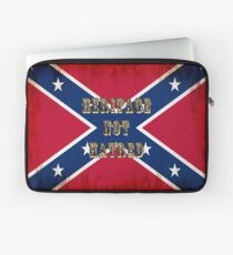 Heritage, Not Hatred - Confederate Flag Laptop Sleeve