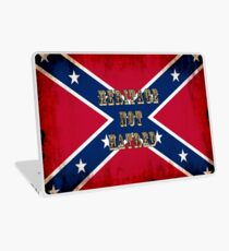 Heritage, Not Hatred - Confederate Flag Laptop Skin