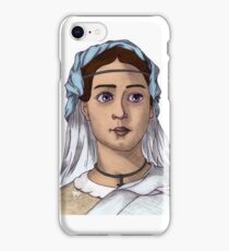 A bored face at its best iPhone Case/Skin