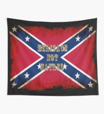 Heritage, Not Hatred - Confederate Flag Wall Tapestry