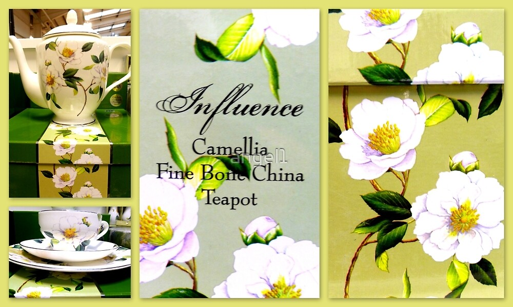 Camelia Tea Set featured in Collective Collage  by ©The Creative  Minds