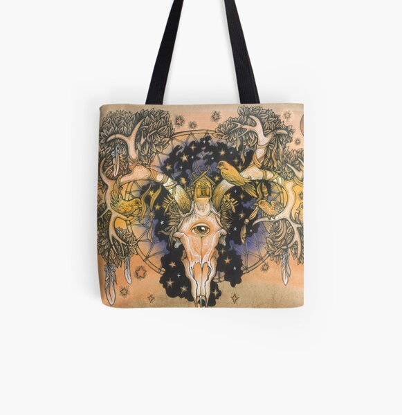 Parallel Universe All Over Print Tote Bag