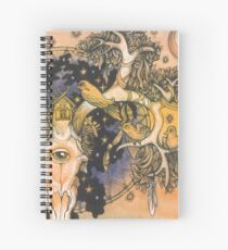 Parallel Universe Spiral Notebook