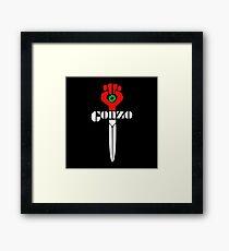 Gonzo Merchandise Framed Print