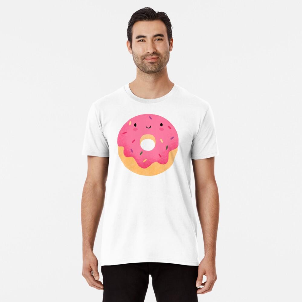 Glücklicher Donut Premium T-Shirt