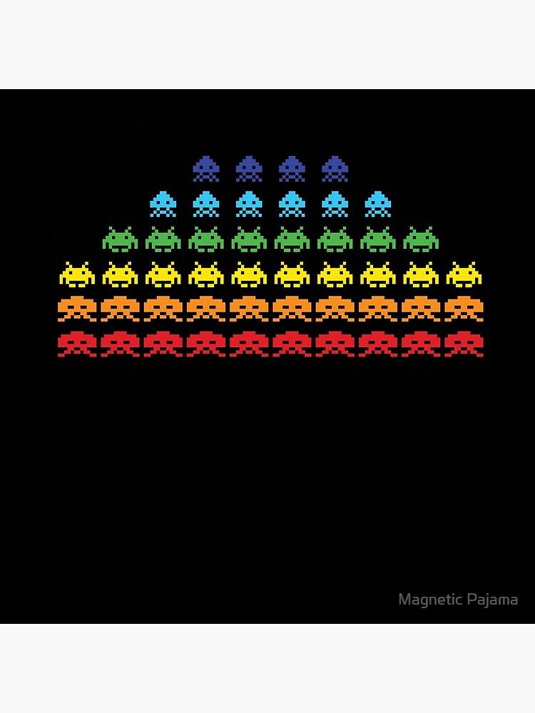 """""""SPACE INVADERS"""" Video Game Lovers Vintage by MagneticMama"""