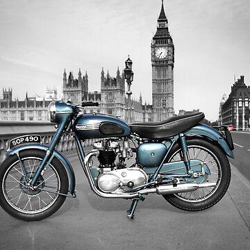 Thunderbird 1955 At Big Ben by rogue-design