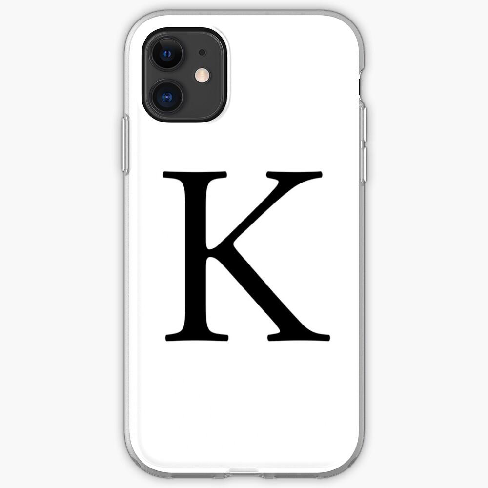 coque iphone 8 alphabet