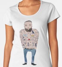 Real men like cats Women's Premium T-Shirt
