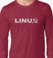 Communist Linux Tee Long Sleeve T-Shirt