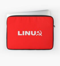 Communist Linux Tee Laptop Sleeve