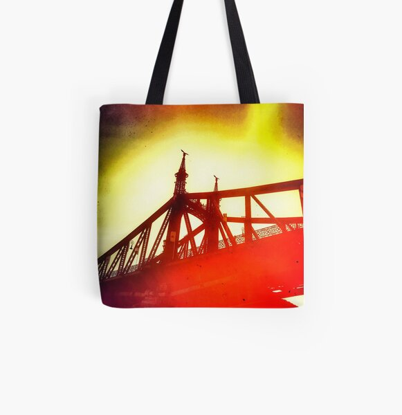Wake Up Positive Today. Join the Happiness Movement All Over Print Tote Bag