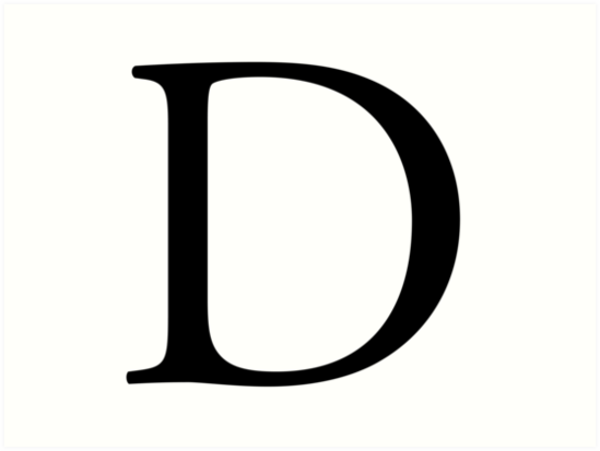 D, Alphabet, Letter, Dee, Delta, Denver, A to Z, 4th Letter of