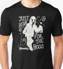 Halloween Just Here For The Boos Funny Halloween Party T-Shirt